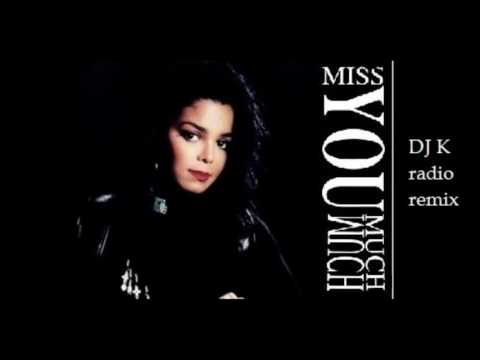 Janet Jackson - Miss You Much (DJ K radio remix) [HQ audio remaster]