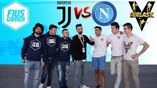 Juventus Vs Napoli - Sfida Calcio 3 VS 3 • PirlasV Vs Fius Gamer