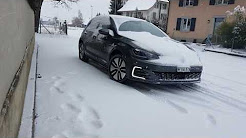 Winter Tyres Nokian D4 - Owner Test Review - VW Golf 7 GTE - Snow Drive❄⛔