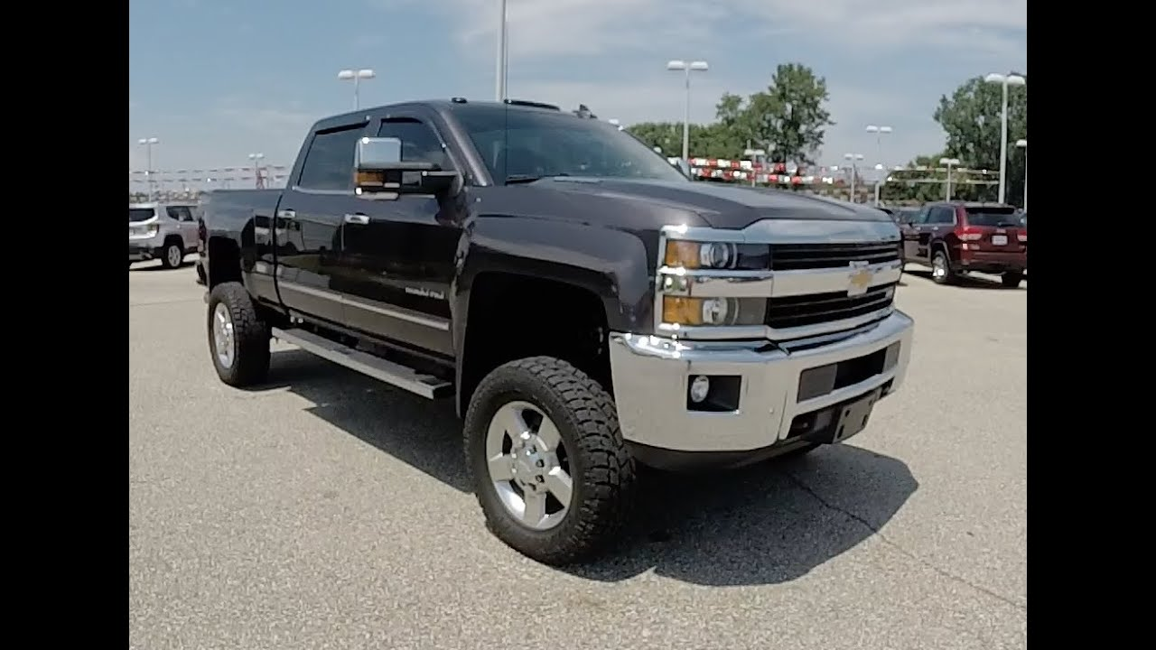 2016 chevrolet silverado 2500 hd crew cab ltz z71 4x4 18463a youtube. Black Bedroom Furniture Sets. Home Design Ideas