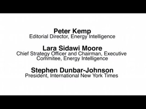 Oil & Money 2014 Welcome and opening by Energy Intelligence and International New York Times