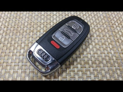 how to replace the battery in your audi a6 key fob how. Black Bedroom Furniture Sets. Home Design Ideas