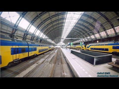 4K Cab Ride NL Uitgeest – Amsterdam CS – Utrecht CS / SPR 4749 / 7449 - 11-09-2017