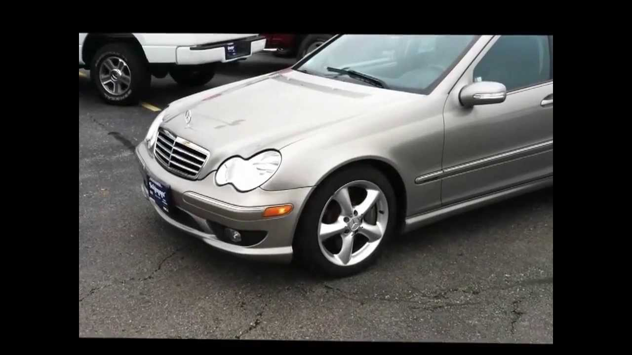 Official Review MercedesBenz C230 Sport  2006 FULL REVIEW  YouTube