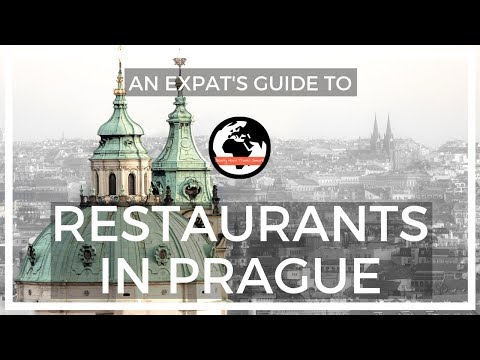 Four of my Favorite Restaurants in Prague!