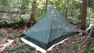 Budget bug bivy /inner tent camping and review.