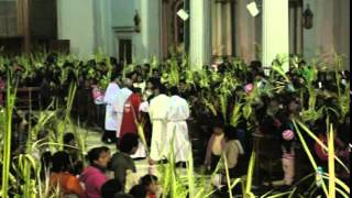 Semana Santa en Tarma 2015 Domingo Ramos  Parte 2