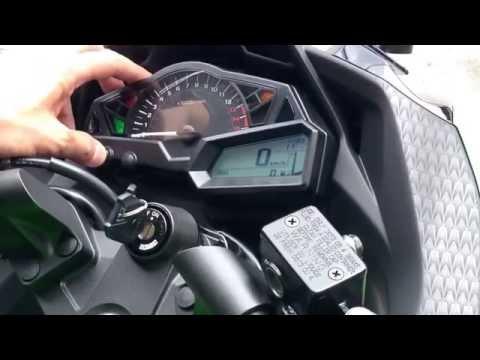 ออกรถ Kawasaki Ninja300 30/ก.ค./2557