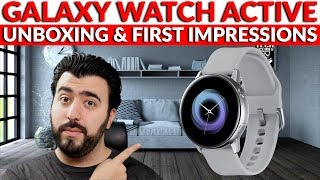 Samsung Galaxy Watch Active Unboxing & First Impressions This Smartwatch Looks Great