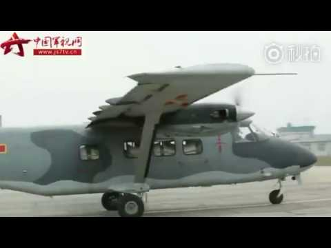 Chinese airborne troops receives new Y-12D aircraft to replace the aging Y-5