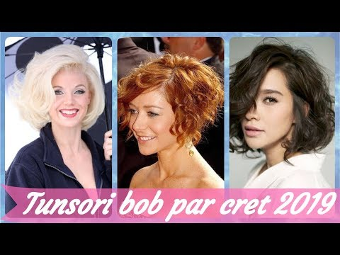 Top 20 Idei De Tunsori Bob Par Cret 2019 Youtube