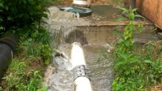Bardstown Kentucky sewer overflow 6-10-09
