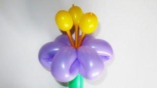 как сделать тычинки для цветов из воздушных шаров