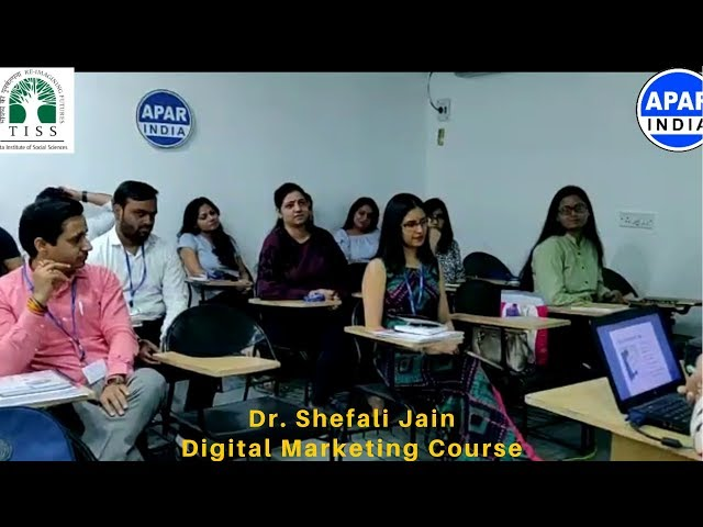 Dr. Shefali Jain - Dentist | Digital Marketing Course | TATA Institute of Social Sciences (TISS)