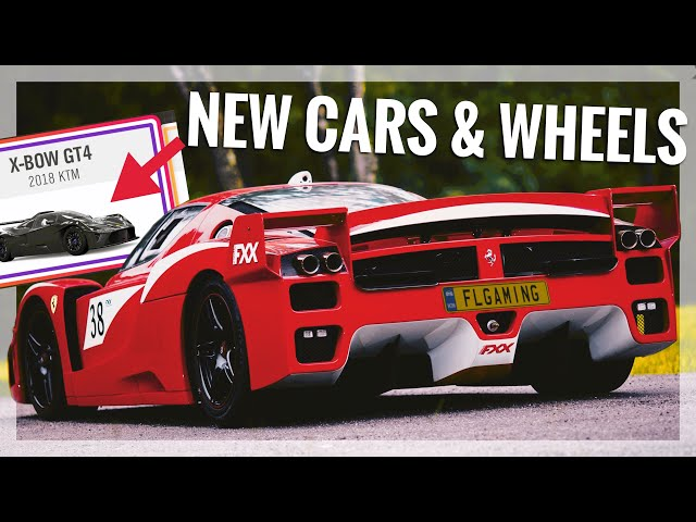 Forza Horizon 4 Update 3 | All 12 New Cars & 41 New Wheels + Painting Options