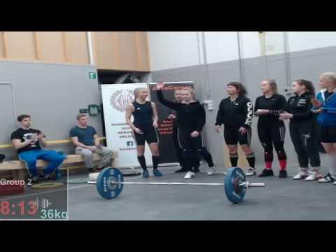 Weightlifting Helsinki Open 2018 G1-G4