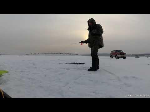 Рыбалка Каменка - Свирск 15.12.18