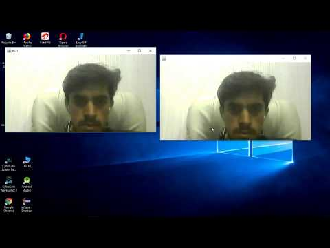 Access Your Web Cam In Java And Make A Video Stream Over The Network Sockets