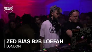 Zed Bias B2B Loefah Boiler Room London DJ Set