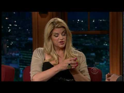 Craig Ferguson interviews Kirstie Alley-Part 1