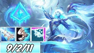 DAWNBRINGER SORAKA TOP S+ GLACIAL AUGMENT   New 40% CDR Build & Runes   League of Legends   S10