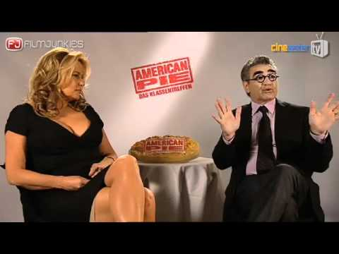 AMERICAN PIE - INTERVIEW MIT JENNIFER COOLIDGE & EUGENE LEVY