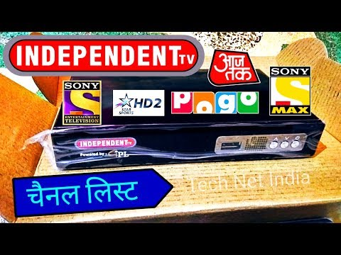 Independent TV 👉 Channel List  Reliance Big TV Latest News & Channel List
