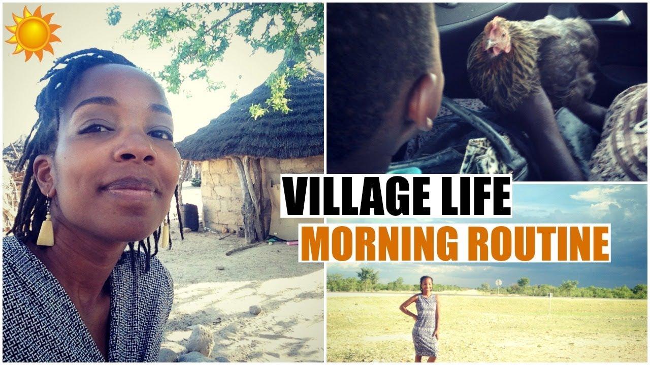 Namibian Village Life My Morning Routine African American Expat