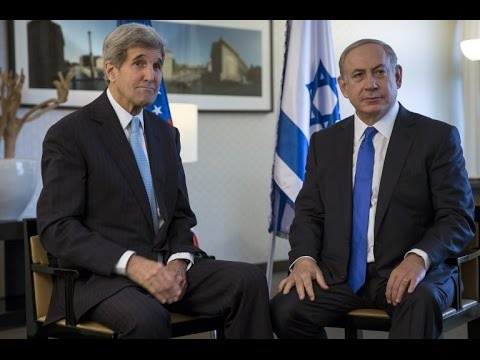 "Israel/Palestine: John Kerry ""cautious"" but ""optimistic"" after meeting Israel PM Netanyahu"