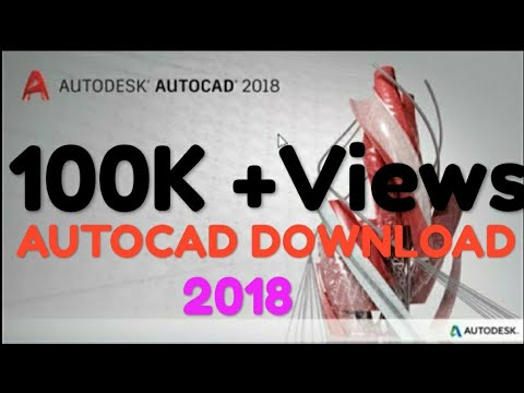 How to DOWNLOAD AUTOCAD 2018 FULL FREE VERSION 32/64 BIT VERSION