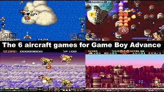 The 6 aircraft games for Game Boy Advance