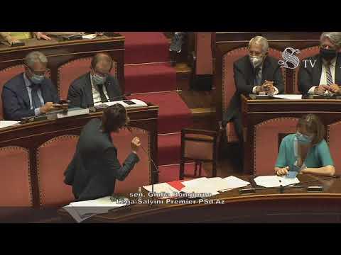 Bongiorno (Lega): 'No a processo a Salvini, non inginocchiatevi a Palamara' (30.07.20)