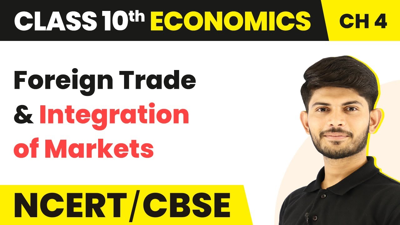 Foreign Trade Integration Of Market