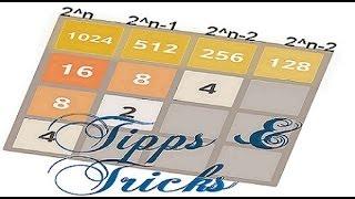 2048 Tipps und Tricks: Die Strategie