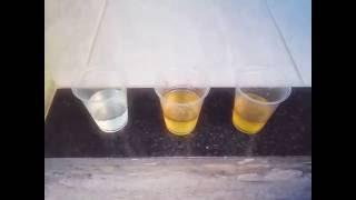 Teste de gravidez caseiro com água sanitária' Deu Positivo