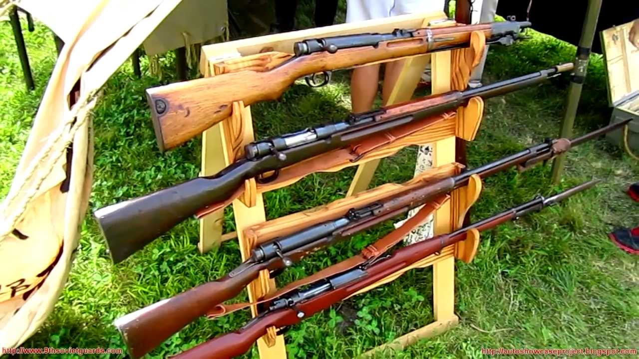 Japanese Rifles of World War 2 - Collection