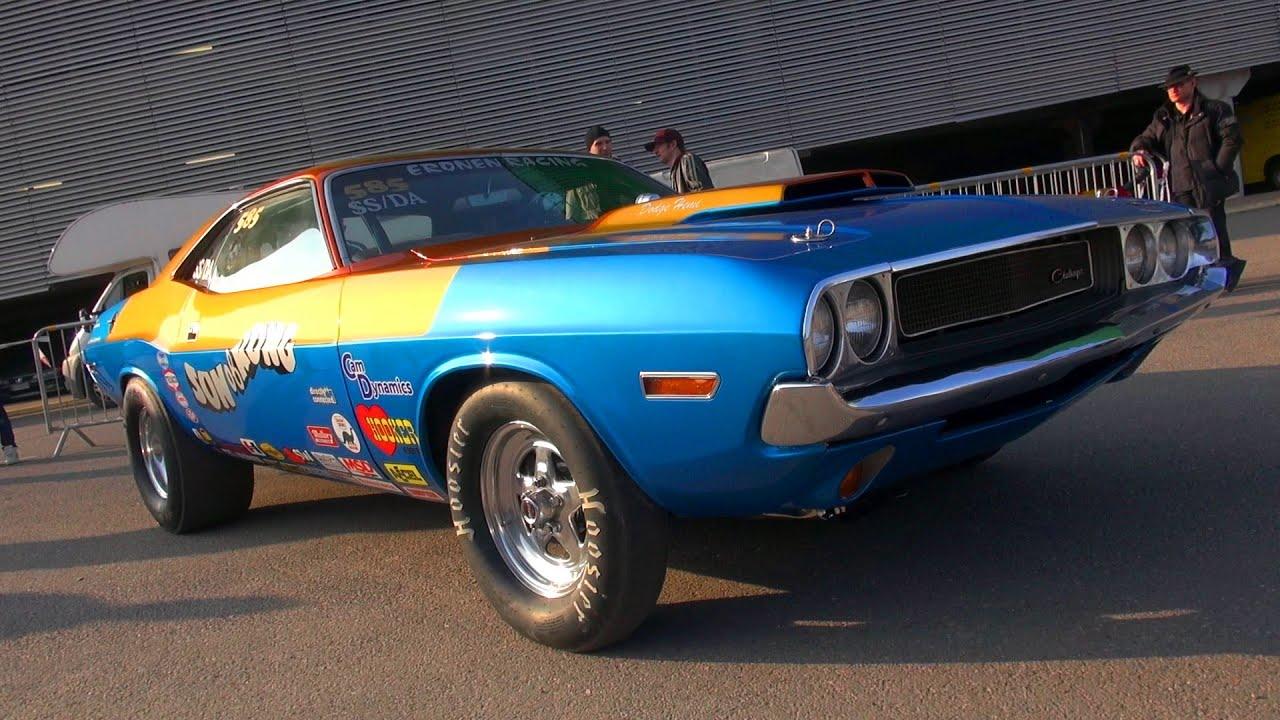 2016 Dodge Barracuda >> LOUD Super Stock Mopars! - 1970 Dodge Challenger and HEMI Dart - YouTube