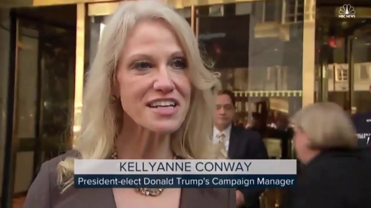 Kellyanne conway tits real or not