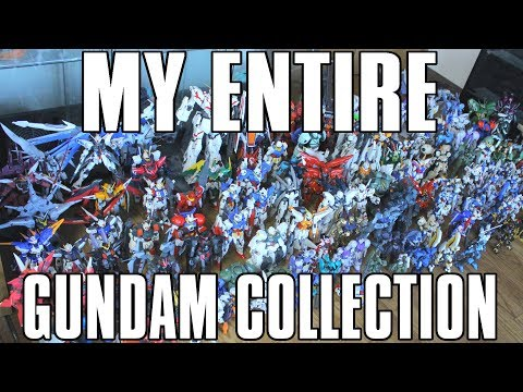 My Entire Gundam Collection RATED 2017
