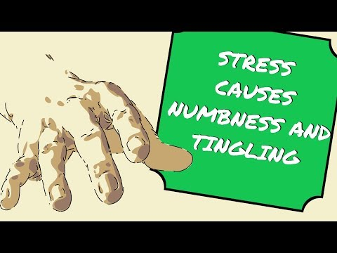 ANXIETY Causes NUMBNESS And TINGLING Sensations - But Why? Explained!