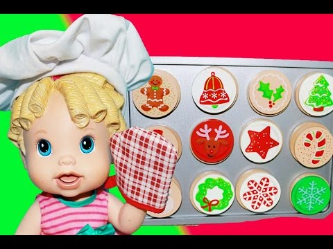 Baby Alive Toy Christmas Cookies Melissa & Doug Crazy Baby LICKS ...