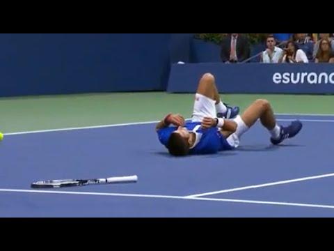 Federer makes Djokovic fall - US Open final 2015