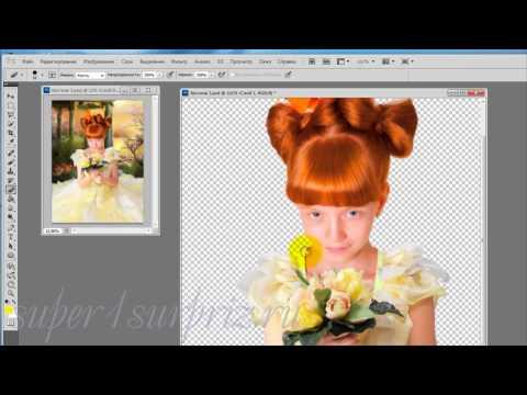 Фотошоп урок Как применять шаблоны для фотошопа