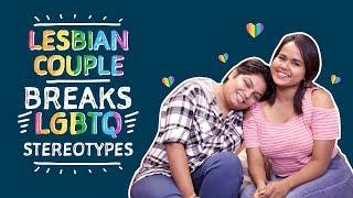 Lesbian Couple Breaks LGBTQ Stereotypes   Gay Pride Parade 2019   Pinkvilla