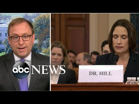 John Bolton's involvement brought up in impeachment hearing | ABC News