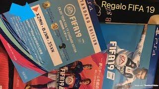 FIFA 19 APRIAMO I PACCHETTI + CODICE REGALO