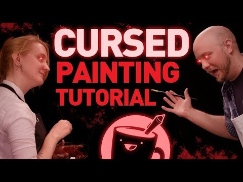 How To Paint: The Golden Girls (CURSED VIDEO)
