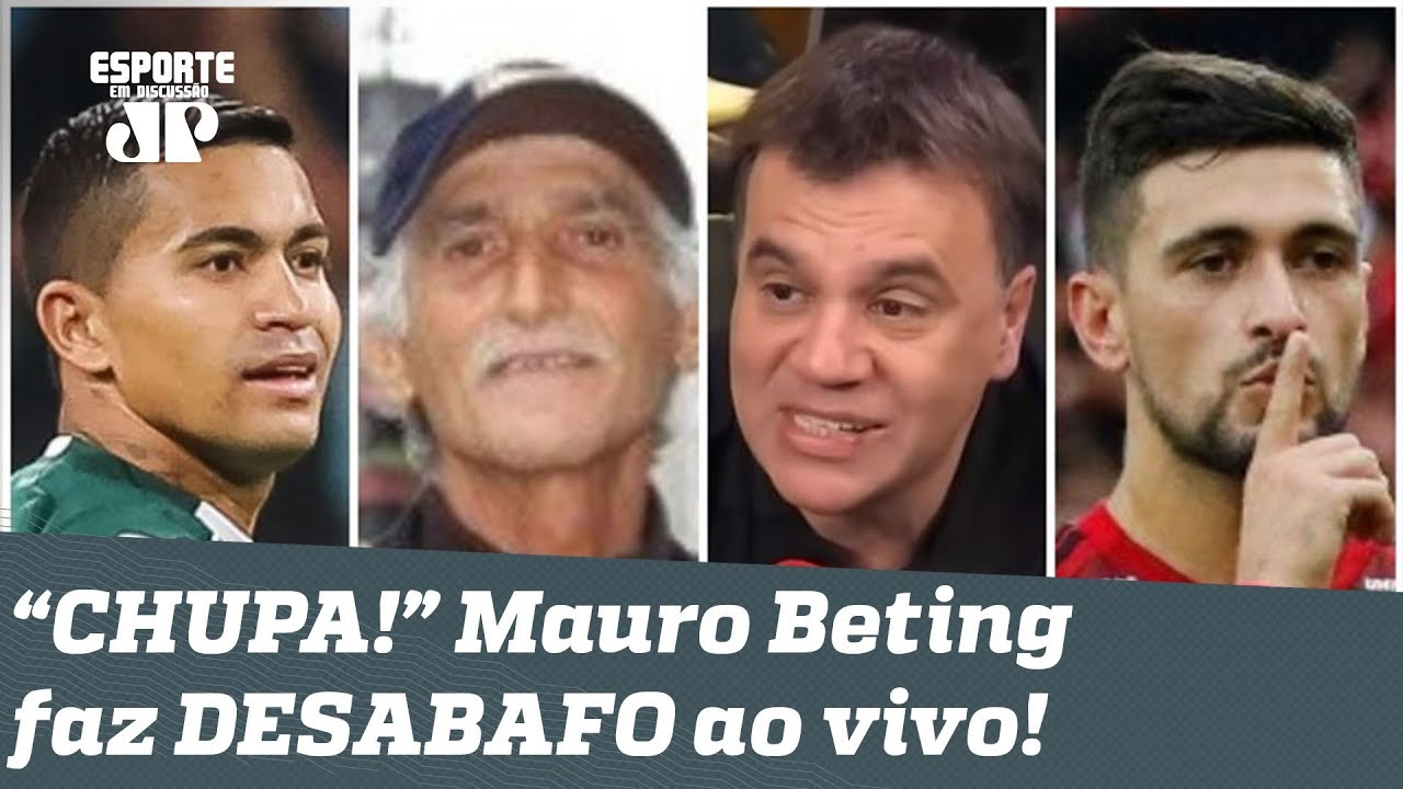Mauro betting video palmeiras x football betting tips uk