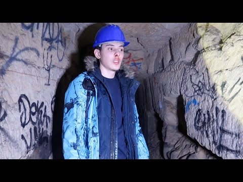 OVERNIGHT In Paris Catacombs (EXPLORING ILLEGAL TUNNELS!) - TRAILER