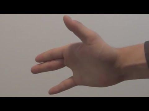Vanishing Finger Trick